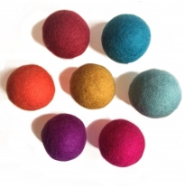 PAPOOSE - craft felt pompoms 5cm