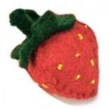 PAPOOSE - felt food, strawberry