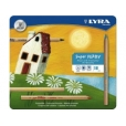 LYRA - super ferby pencils, unlacquered, tin of 18