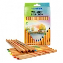 LYRA - super ferby pencils, unlacquered, waldorf selection 12pk