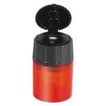 LYRA -  twin hole pencil sharpener, enclosed plastic