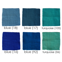 PAPOOSE - craft felt sheets 25cm, blues