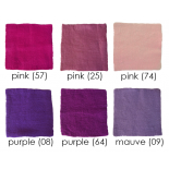 PAPOOSE - craft felt sheets 25cm, pink/purple