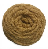 golden fleece - 16 ply Australian eco wool yarn 50g, camel