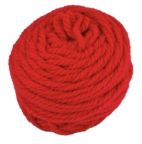 golden fleece - 16 ply Australian eco wool yarn 50g, carmine red