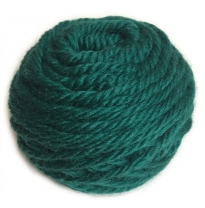 golden fleece - 16 ply Australian eco wool yarn 50g, dark green