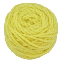 golden fleece - 16 ply Australian eco wool yarn 50g, lemon yellow