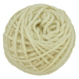 golden fleece - 16 ply Australian eco wool yarn 50g, natural unprocessed