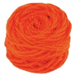 golden fleece - 16 ply Australian eco wool yarn 50g, orange
