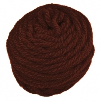 golden fleece - 16 ply Australian eco wool yarn 50g, red brown
