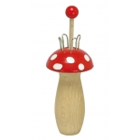 Glückskäfer - French knitting mushroom