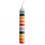 nic toys - striped candle, 10cm