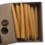 dipam - 100% beeswax tapered birthday ring candles
