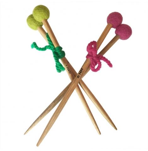 PAPOOSE - bamboo knitting needles