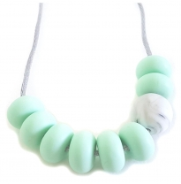 Indi & Frey - necklace, adore mint